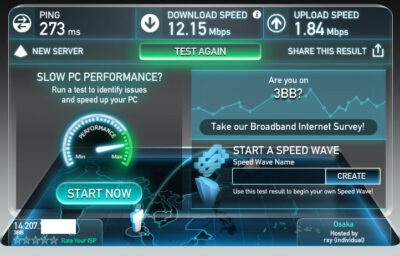 speed test 3bb
