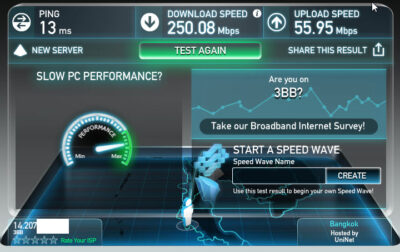 speed test uninet